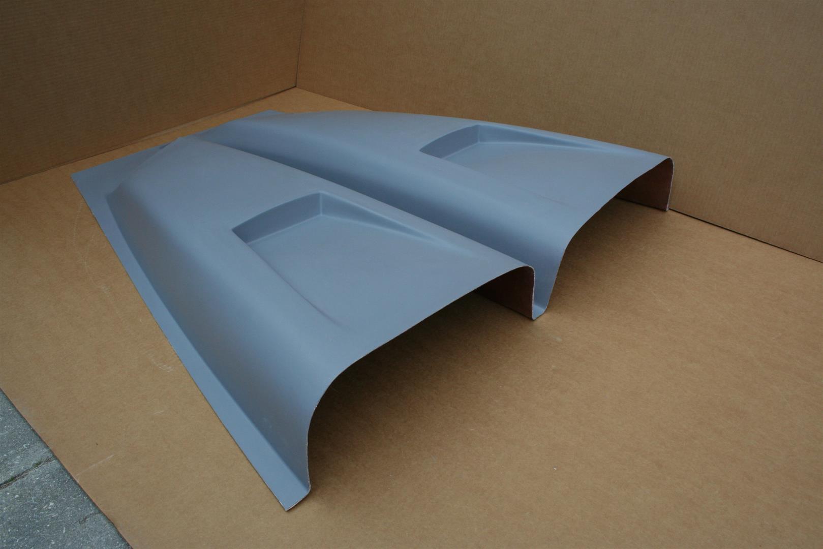 Cowl Induction Hood Air Pan : Ram air cowl induction hood scoop universal dodge chevy ebay
